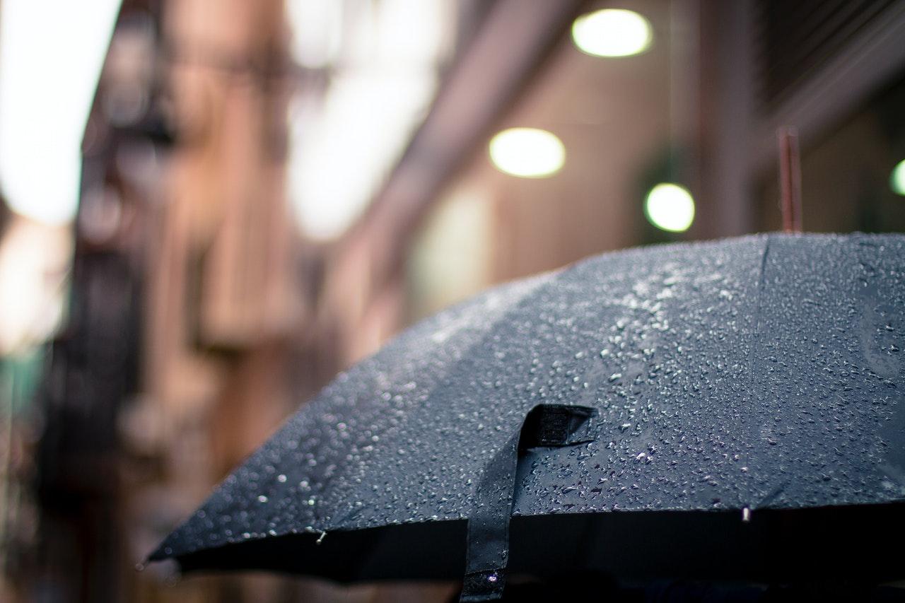 En paraply er din forsikring mod regn